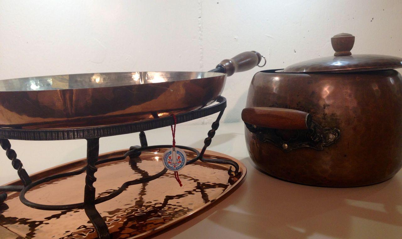 Flambierpfanne aus Kupfer – Zeiter Küchen in Lax für Ihre Traumküche